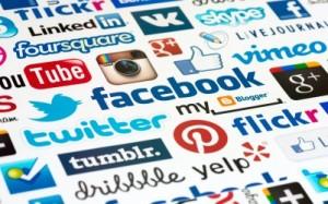 социальные сети, электронная почта, блоги